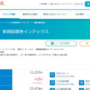 iFree 新興国債券インデックス