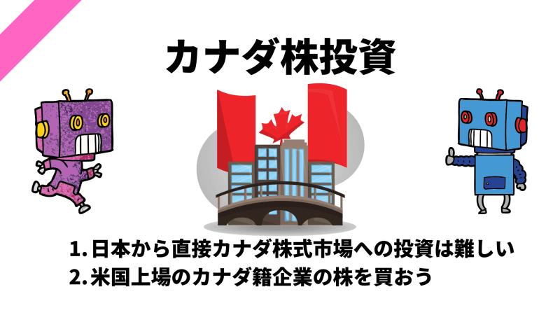 カナダ株式に関する記事一覧